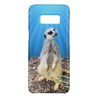 Blauwe Nacht Meerkat, Case-Mate Samsung Galaxy S8 Hoesje