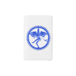 Blauwe Nataraja Pocket Moleskine Notitieboekje