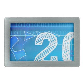 Blauwe nieuw-jaar-Dag #2 Gesp
