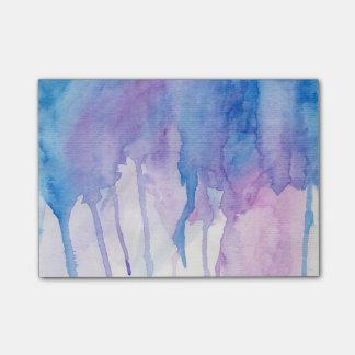 Blauwe & Paarse Waterverf | de Nota's van de Post-it® Notes