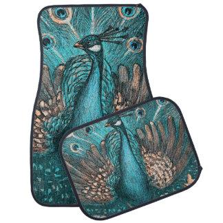 blauwe pauw automat