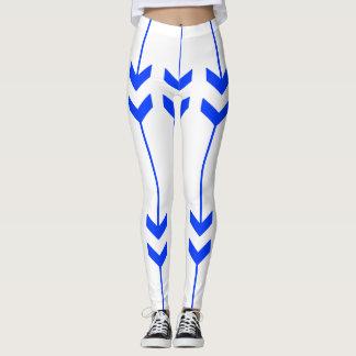 Blauwe Pijlen Leggings