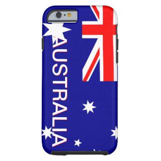 Blauwe Rode & Witte iPhone 6 van Australië hoesje