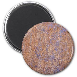 Blauwe Roest Ronde Magneet 5,7 Cm