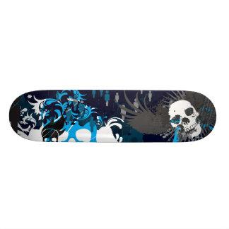 Blauwe Schedel 20,6 Cm Skateboard Deck