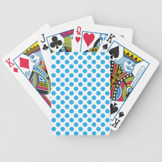 Blauwe Stippen Poker Kaarten