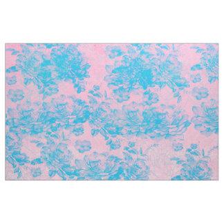blauwe stof