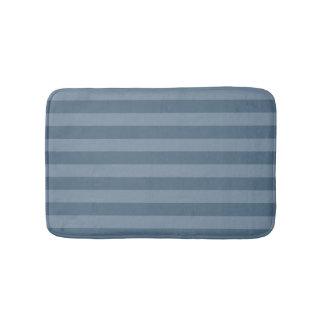 Blauwe Strepen Badmat