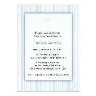 Blauwe Strepen, Eerste Heilige Communie Kaart