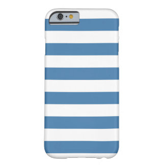 Blauwe Strepen, Trendy patrooniPhone 6 hoesje Barely There iPhone 6 Hoesje