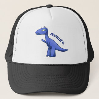 Blauwe t-Rex Trucker Pet