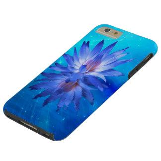 Blauwe Taaie iPhone 6 van de Waterlelie plus Tough iPhone 6 Plus Hoesje