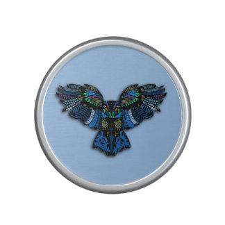 Blauwe Uil Bluetooth Speaker