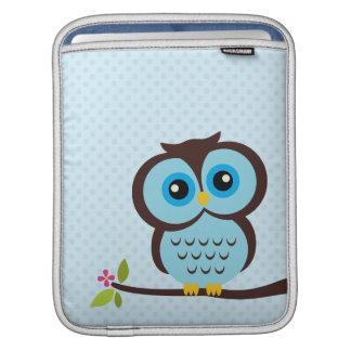 Blauwe Uil iPad Beschermhoes