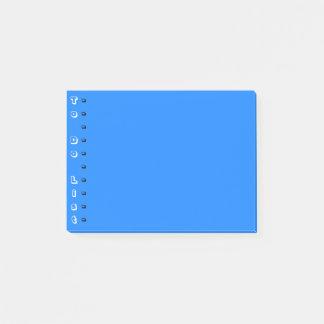 Blauwe Verticaal om Lijst te doen Post-it® Notes