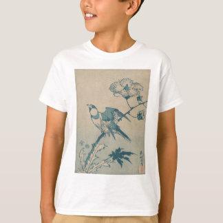 Blauwe Vogel T Shirt