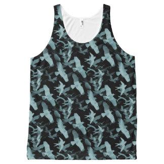 Blauwe Vogels All-Over-Print Tank Top