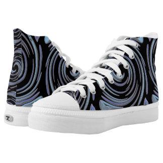 Blauwe Wervelingen High Top Schoenen