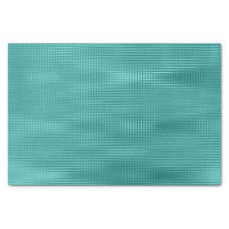 Blauwgroen Aquatische Metaal bloost de Strepen van Tissuepapier