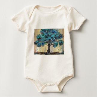 Blauwgroen Boom Baby Shirt