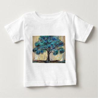 Blauwgroen Boom Baby T Shirts