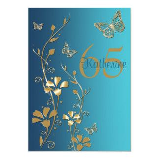 Blauwgroen, Gouden Bloemen & de Uitnodiging van