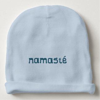 Blauwgroen Namaste Baby Mutsje
