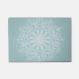 Blauwgroen Ster Mandala Post-it® Notes