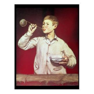 Blazende Bellen van de jongen, 1867-69 Briefkaart