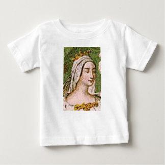 bleke eerlijke koningin baby t shirts