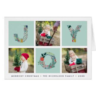 Blij Type | de Gevouwen Kaart van de Foto van de Briefkaarten 0