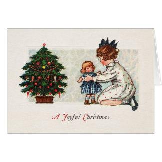 Blije Kerstmis - wijnoogst Briefkaarten 0