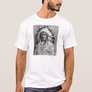 BLIJKT U ALLEN ONWETTIG bent T Shirt