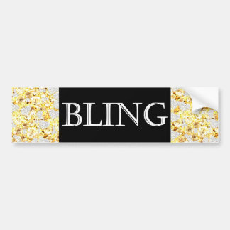 BLING BUMPERSTICKER