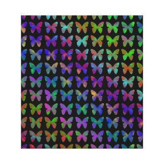 Bliss. van de vlinder canvas print