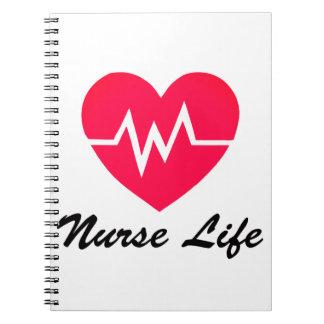 Blocnote van het Hart van het electrocardiogram Notitieboek
