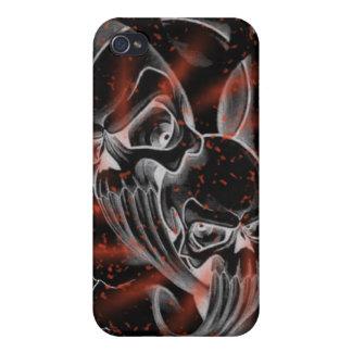 Bloedig ploeter skullz hoesje iPhone 4/4S hoesje