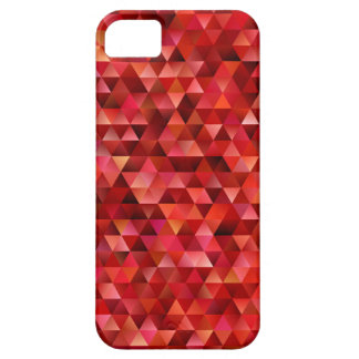 Bloedige driehoeken barely there iPhone 5 hoesje