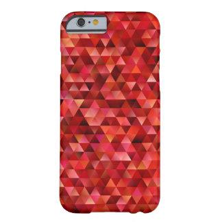 Bloedige driehoeken barely there iPhone 6 hoesje