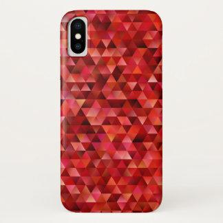 Bloedige driehoeken iPhone x hoesje