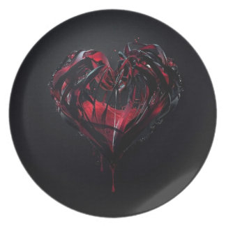 Bloedige Romance Melamine+bord