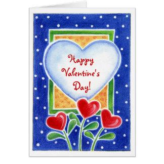 Bloeiende Harten - de Kaart van Valentijn