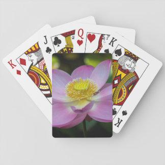 Bloeiende lotusbloembloem, Indonesië Speelkaarten