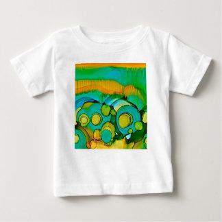 bloem gebieden baby t shirts