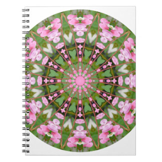 Bloem Mandala, Aftappende Harten 02.0_rd Ringband Notitieboek