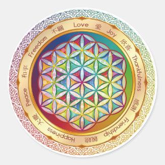 Bloem van de Sticker van het Leven - ORIGINEEL