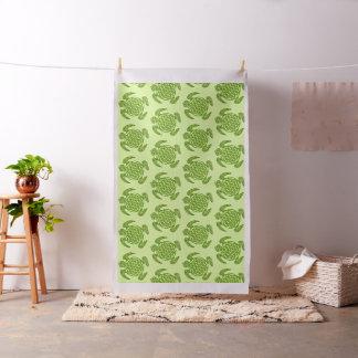 Bloem van het Leven/Blume des Lebens - groene Stof