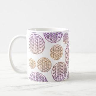 Bloem van het Leven/Blume des Lebens - Koffiemok