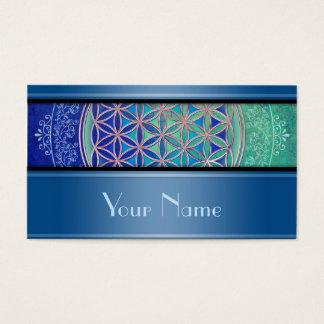 Bloem van het Leven/Blume des Lebens - Ornament VI Visitekaartjes