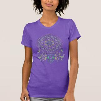 Bloem van het Leven/Blume des Lebens - Ornamenten T Shirt
